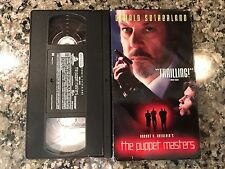 The Puppet Masters Vhs! 1994 Iowa Thriller! Virus Lock Up Eye Of The Needle