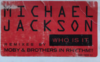 """Michael Jackson """"Who Is It"""" Vinyl Record  Rare 2x12"""" 1993 Promo Remix by Moby"""