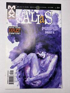 Alias #24 - Max Comics - 1st App. Purple Man