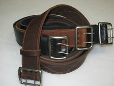 New Army Officer Belt Genuine Leather Black Brown 100-150 cm