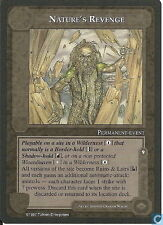 Middle-Earth CCG MECCG TWH The White Hand Nature's Revenge