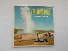 Yellowstone   View Master  S5 Packet  1960s