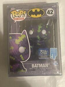 Funko Pop! Art Series Hollywood Store Exclusive - Purple Batman #42 W/ Protec