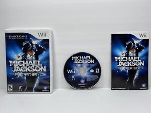 Michael Jackson: The Experience (Nintendo Wii, 2010) COMPLETE TESTED FREE SHIP