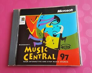 Microsoft Music Central 97 Vintage Software Excellent Condition