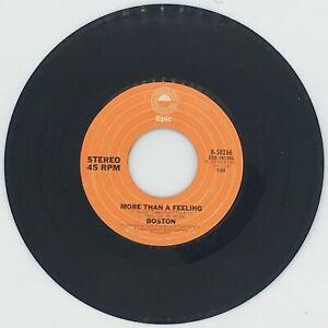 Boston ~ More than a feeling / Smokin - EPIC # 50266 45RMP Vinyl Record