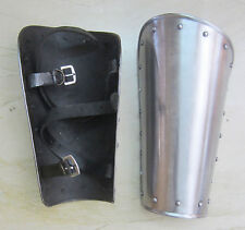 Iron Steel Arm Guards Metal Guard Vambraces Medieval Spartan Knight Bracers