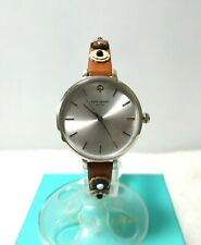 Kate Spade Women's Metro Light Brown Leather Strap Watch / KSW1464