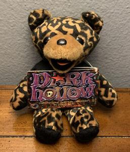 "Dark Hollow Grateful Dead Bean Bear - 7"" Plush Vintage Collectible - Tour Bear"
