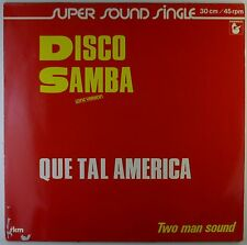 "12"" Maxi - Two Man Sound - Disco Samba - A2347 - washed & cleaned"
