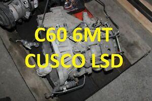 C60 CUSCO LSD Toyota Celica ZZT231 2ZZGE 6MT Gearbox
