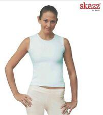 Ballett S 34-36 NEU OVP Sansha Skazz Tanz Jazz Shirt Top SK1005 Damen Schwarz Gr