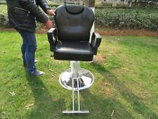 1X New Ajustable Black Barber Cutting Chair Stool Shampoo
