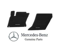 Genuine Mercedes-Benz R171 SLK Class 2005-11 Front Carpeted Black Floor Mat Set