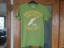 Hommes'S VERT ABERCROMBIE and FITCH T Shirt