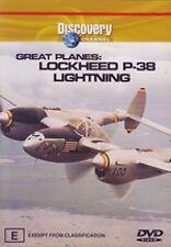 Great Planes - Lockheed P-38 Lightning (DVD, 2003)