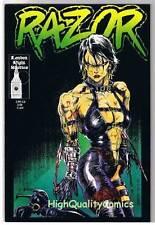 RAZOR #2, NM+, Femme Fatale, James O'Barr, Hartsoe,1992, more in store