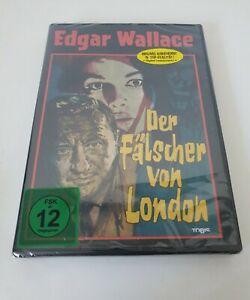 Edgar Wallace - Der Fälscher von London DVD Neu & Ovp