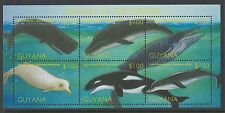 2002 Guyana Whales MS SG 6325 Muh