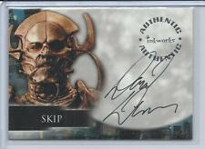 BUFFY TVS - ANGEL SEA 4 - DAVID DENMAN AS SKIP AUTO CARD - NrMt - A26