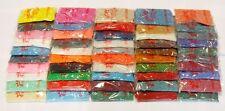 50 Farben Rocailles Perlen Indianerperlen Roccailles Glasperlen 3mm Rund