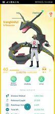 Pokémon Go account 40 shiny rayquaza shiny giratina shiny kyogre shiny genesect