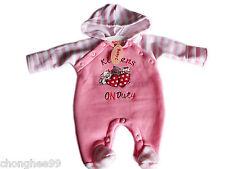 Vestiti e abbigliamento casual neonati rosi per bambina da 0 a 24 mesi