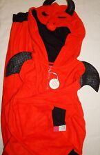 Costume Unionsuit Devil Women L Naughty Red Sleepwear Xhilaration 1 Piece Hood
