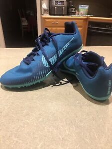 Nike Men's Zoom Rival M 9 Track and Field Shoes size 10.5 *Without Spikes*