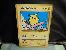 Pokemon JAPANESE  SURFING PIKACHU NO.025 1996 POCKETMONSTERS !! MT/NM