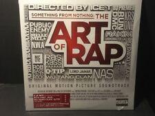 Something From Nothing : The Art of Rap Soundtrack 2x Vinyl LP NAS Wu Tang DMC++