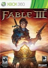 Fable 3 III Xbox 360 with Manual - USED