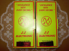 New Matched Pair of JJ 2A3-40 Electron Tubes - Amplitrex Tested