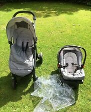 GRACO PRAM/PUSHCHAIR 3in1,slightly new,suitable from birth.One weekused.Rp 329