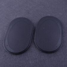 2Pc Durble Car Inner Speaker Cover Car Audio Decorative Circle Metal Mesh Grille