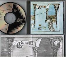 GENESIS Trespass JAPAN CD 32VD-1025 1A1 TO w/INSERT Peter Gabriel BLACK TRIANGLE