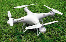 Wide Angle Lens HD Camera Quadcopter RC Drone WiFi FPV Live Helicopter White