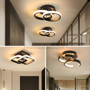 LED CeilingLight Dimmable Lighting Fixtures Lamp Corridor Hallway Entryway