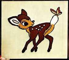 "Vintage Paragon ""Bambi"" Walt Disney Deer Crewel Embroidery Kit"
