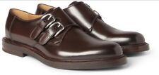 Gucci double monk strap men's leather shoes BNIB RRP £600