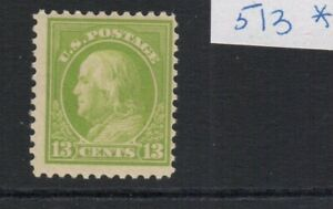 US Scott #513 Mint Lightly Hinged Fine and sound in all respects!
