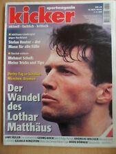 KICKER 90 - 4.11. 1996 * Matthäus Dixie Dörner Schalke-BVB 1:3 Bayern-1860 1:1