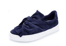 Bronx Suede Knot Slip On Shoe Navy Blue UK 3/36 New & Boxed rrp £105