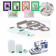 Embroidery Hoop Set for Brother SE350 SE400 HE120 LB-6770 Machine - 3 Piece Set