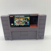 Super Mario All Stars Super Nintendo SNES Vintage Original Game Cartridge
