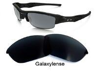 Galaxy Replacement Lenses For Oakley Half Jacket Sunglasses Iridium Black