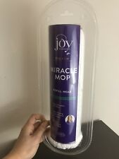NEW! Joy Mangano The New Miracle Mop Refill Head Replacement New in Package