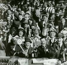 West Ham United FC Football Fans 1933 5x5 Inch Reprint Photo