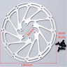 New Road Mountain Bike Disc Brake Rotor MTB Cycling Part 6 Bolt Centerline 180mm