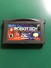 RoboTech The Macross Saga - Authentic Nintendo Game Boy Advance GBA Game